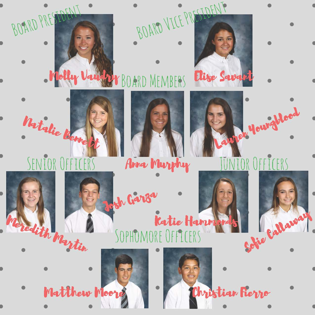 2017 - 2018 Board and Officers